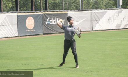UCF Softball Holds First Fall Practice