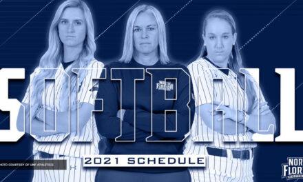 North Florida Softball Announces 2021 Schedule