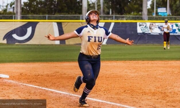FIU Softball player Gallegos Named C-USA Player of the Week