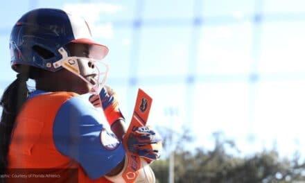 Florida softball player Echols Named SEC Player of the Week