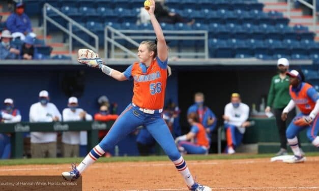 Florida's Chronister Earns SEC Pitcher of the Week