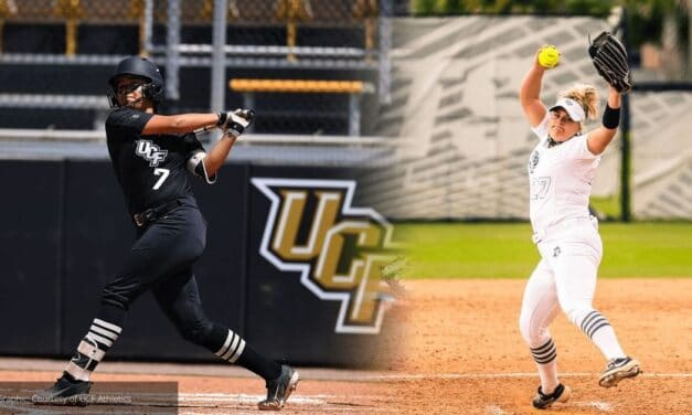 UCF Softball players Esparza, White Tabbed AAC Players of the Week