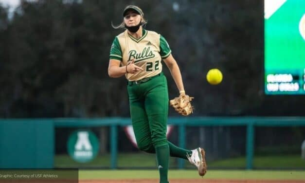 USF softball player CORRICK NAMED AAC PITCHER OF THE WEEK