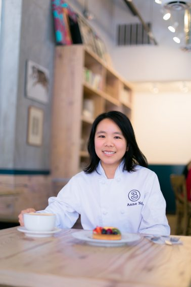 Portraits of Anne Ng from Bakery Lorraine