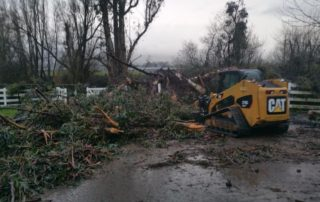 Sonoma County Roads Department Emergency Clean Up