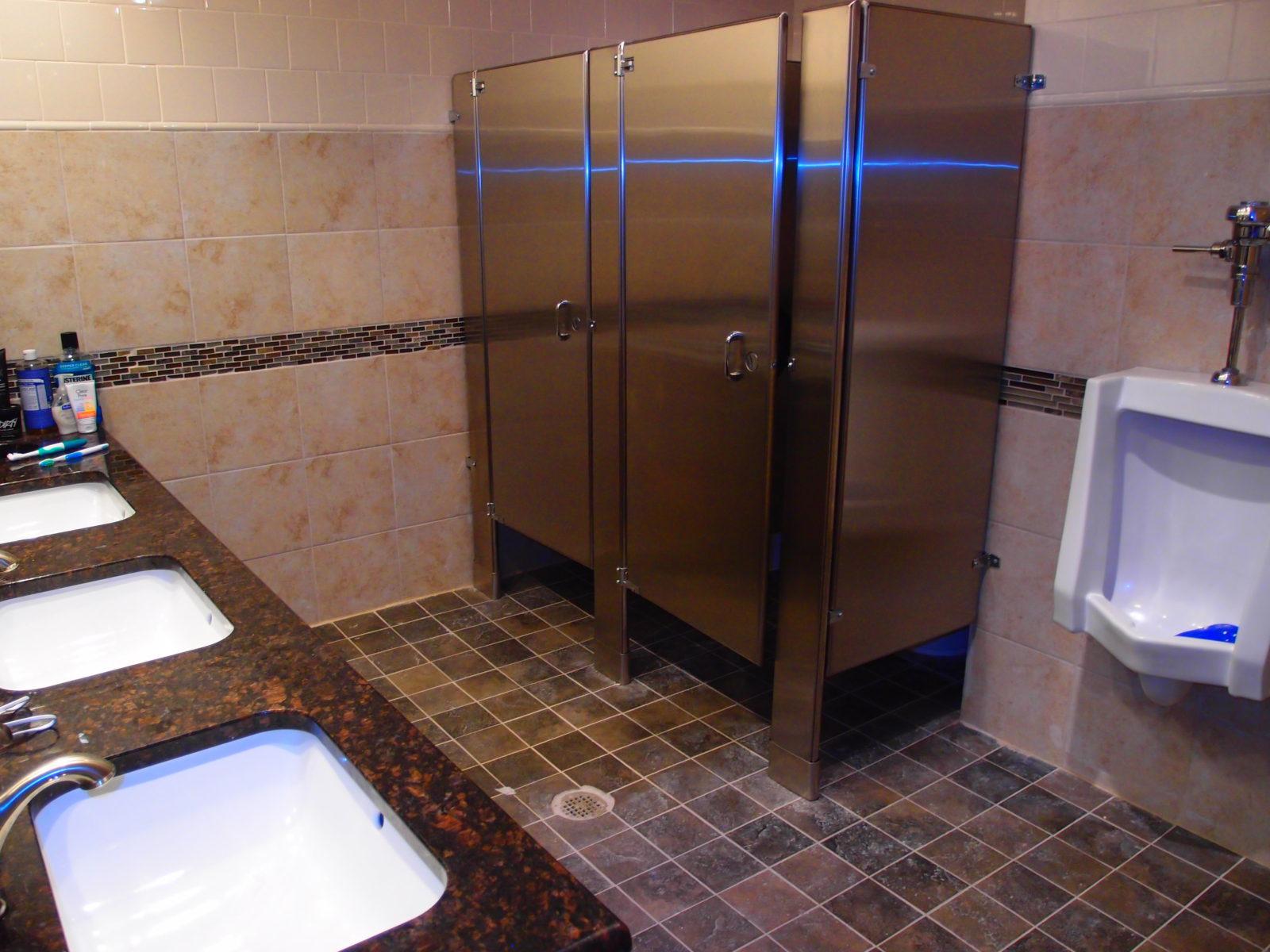 909 male bathroom stools