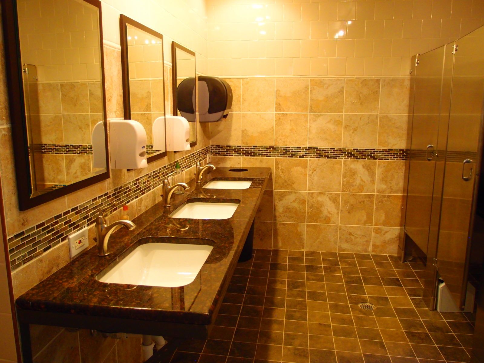 909 female bathroom