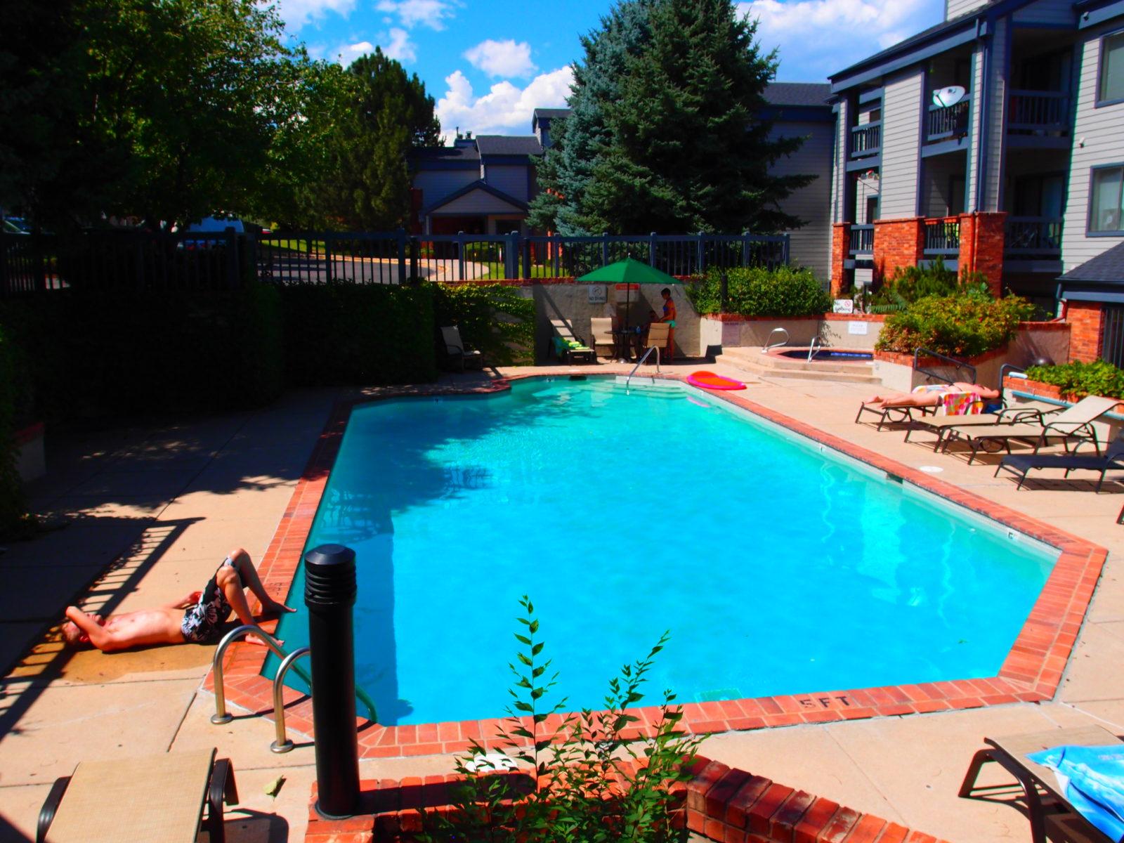 Trout Farm pool