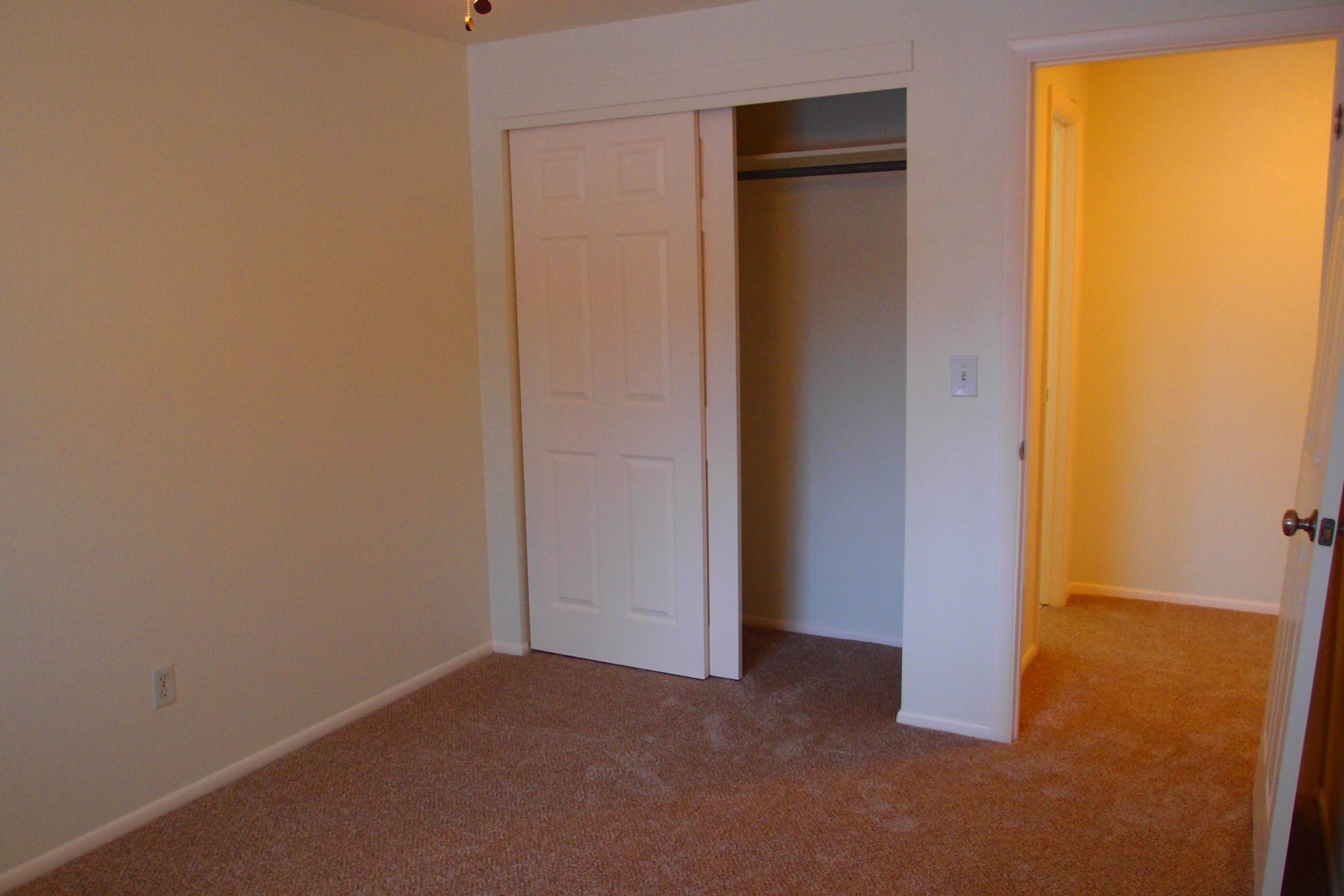Spruce First Bedroom Closet