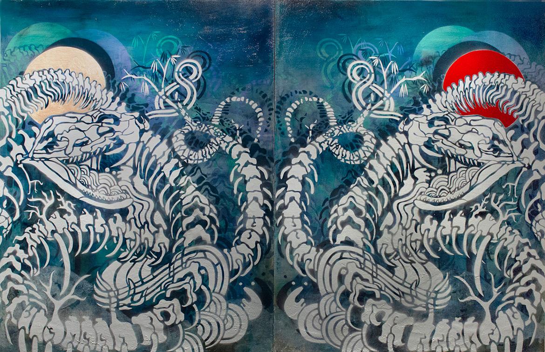 Chung_Sun,Moon,and-Snakes