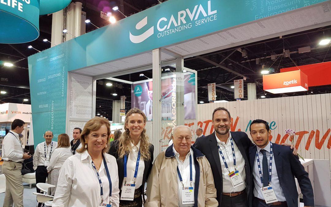 Carval in exhibition in Atlanta