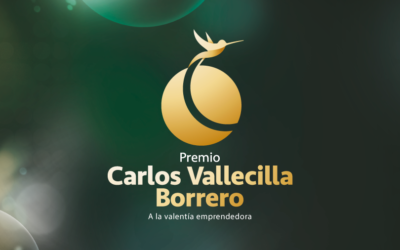 FINALISTS TO THE ENTREPRENEURIAL AND COURAGE SPIRIT AWARD: CARLOS VALLECILLA BORRERO.