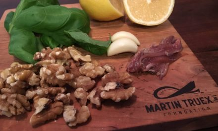 Wondrous walnut pesto