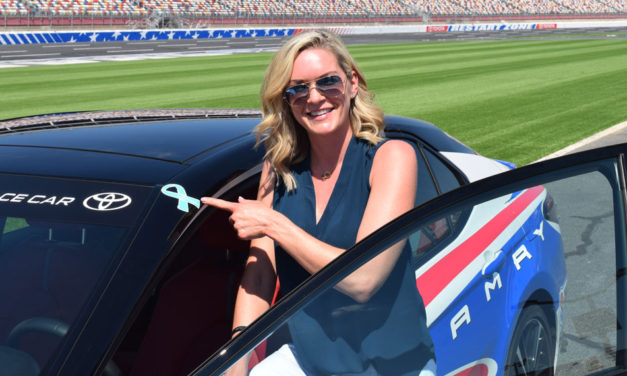 Sherry Pollex, DeAngelo Williams Named Honorary Pace Car Drivers
