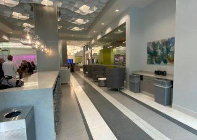 Hallway to Clinic
