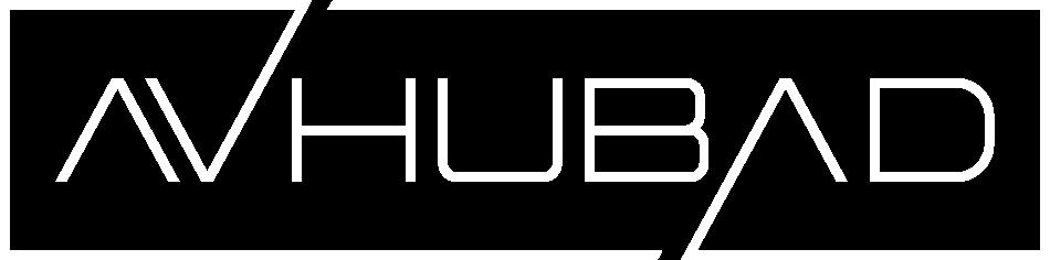 logo avhubad blanco