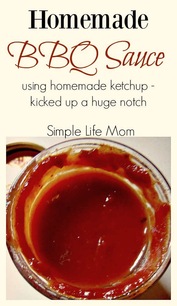 Homemade BBQ Sauce from Simple Life Mom