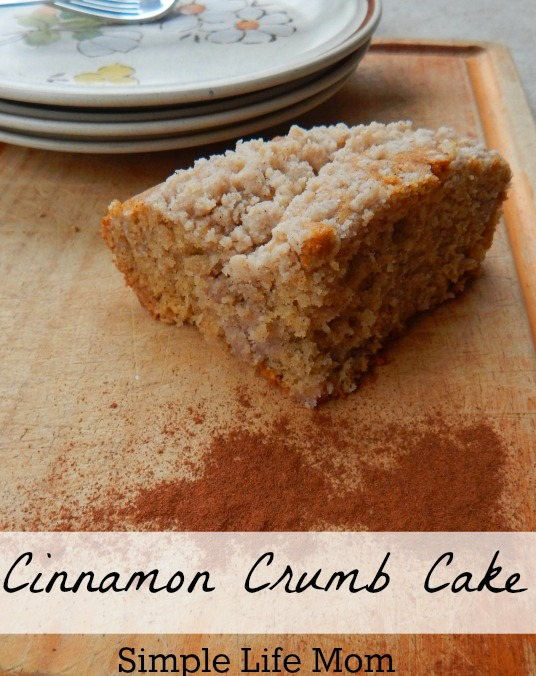 Cinnamon Crumb Cake from Simple Life Mom