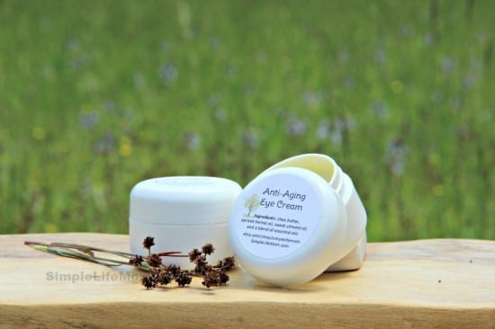 Top 10 Natural Beauty and Body Recipes: Anti Aging Eye Cream by Simple Life Mom