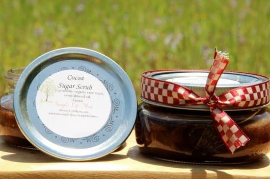 21 Handmade Christmas Gifts - Sugar Scrub by Simple Life Mom