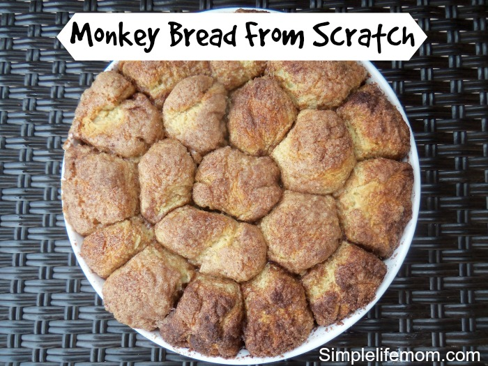 Monkey Bread From Scratch