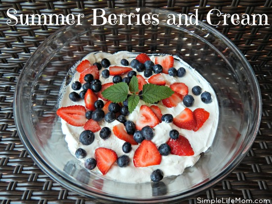 Summer Berries and Cream