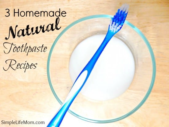 3 Homemade Natural Toothpaste Recipe