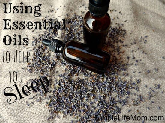 27 Last Minute DIY Gioft Ideas - Essential Oils to Help you Sleep from Simple Life Mom