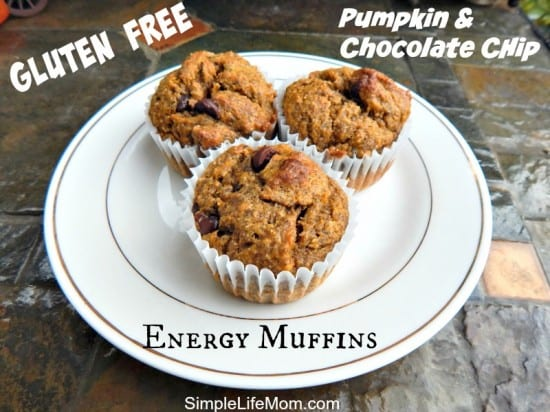 Gluten Free Energy Muffins and Giveaway