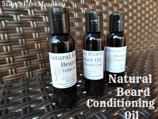 Natural Beard Conditioning Oil