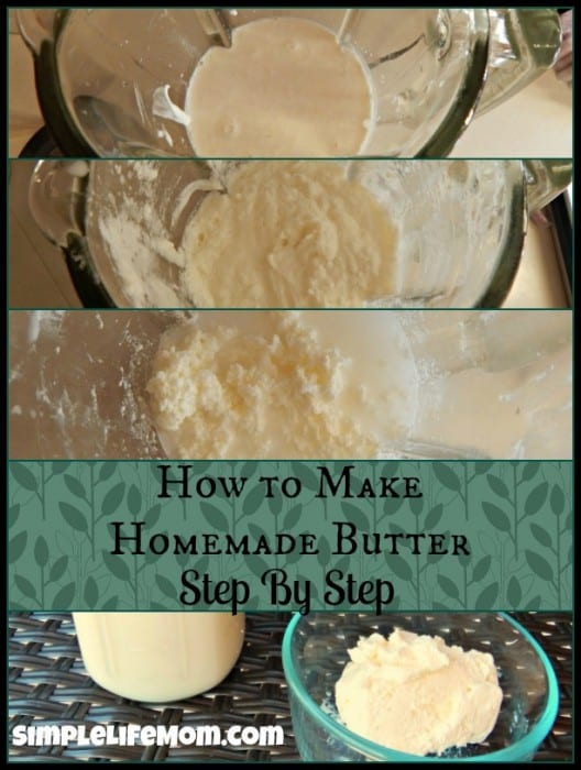 How to Make Homemade Butter Recipe and Video5