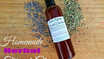 Natural Facial Cleanser an Herbal Face Wash from Simple Life Mom