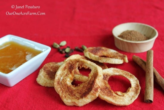 12 Apple Recipes for Fall - Honey-Spiced-Dried-Apple-Rings-1