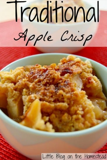 12 Apple Recipes for Fall - Traditional-Apple-Crisp
