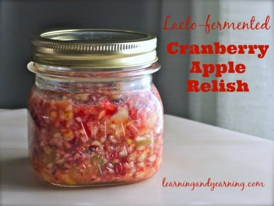 12 Apple Recipes for Fall - cranberry apple relish
