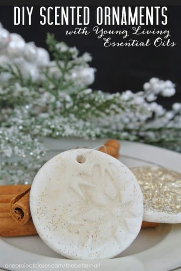 33 Natural Gift Ideas with Essential Oils: Scented Ornaments