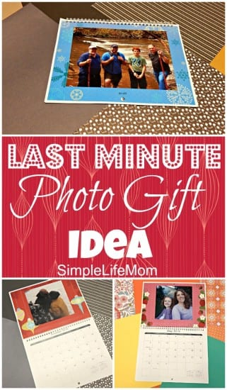 Last Minute Photo Gift Idea from Simple Life Mom