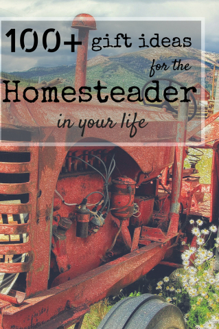 Featured on Hoemstead Blog Hop - Gifts for the Homesteader in Your Life
