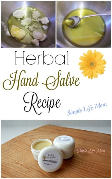 Herbal Hand Salve Recipe from Simple Life Mom