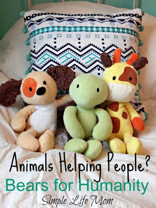Animals Helping People at #BearsforHumanity - Simple Life Mom
