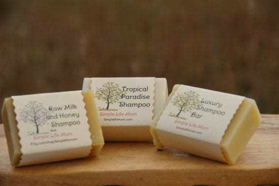 Top 10 Natural Beauty and Body Recipes: Why Use Natural Products - Shampoo Bars from Simple Life Mom