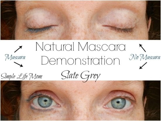Natural Mascara Recipen with Clay and aloe from Simple Life Mom