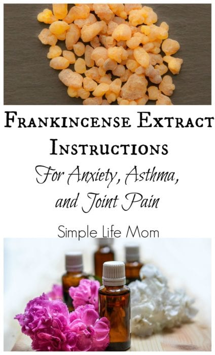 Frankincense Extract Oil for Pain, Anxiety, and Tumor reduction from Simple Life Mom
