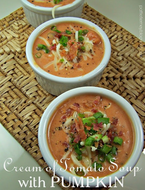 Homestead Blog Hop Feature - Cream of Tomato Soup with Pumpkin