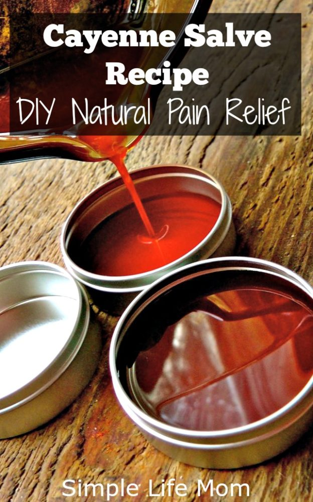 Cayenne Salve Recipe for DIY Natural Pain Relief from Simple Life Mom