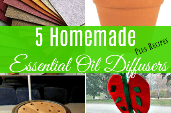 5 Homemade Essential Oil Diffuser Methods and Recipes