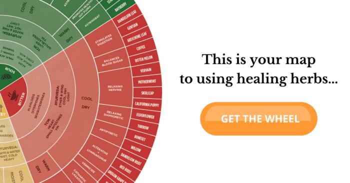 LearningHerbs Flavor Wheel free download