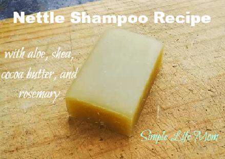 Nettle Shampoo Recipe by Simple Life Mom