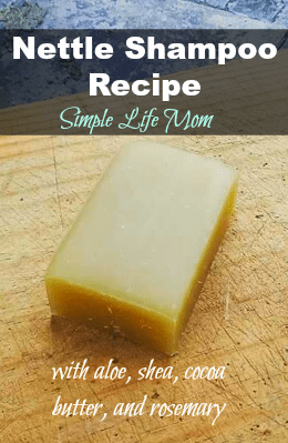 Nettle Shampoo Recipe from Simple Life Mom
