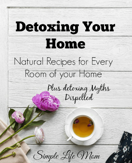 Detox your Home – Natural Recipes and Myths Dispelled